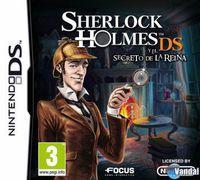 Portada oficial de Sherlock Holmes y el Secreto de la Reina para NDS