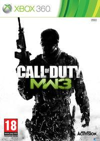 Portada oficial de Call of Duty: Modern Warfare 3 para Xbox 360