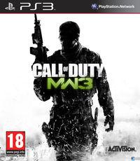 Portada oficial de Call of Duty: Modern Warfare 3 para PS3