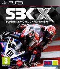 Portada oficial de SBK X para PS3