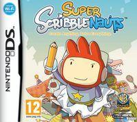 Portada oficial de Super Scribblenauts para NDS