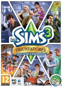 Portada oficial de Los Sims 3: Triunfadores para PC