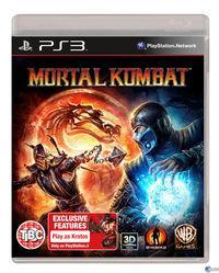 Portada oficial de Mortal Kombat para PS3