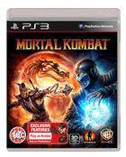 Portada oficial de de Mortal Kombat para PS3