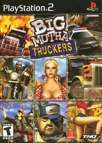 Portada oficial de Big Mutha Truckers para PS2