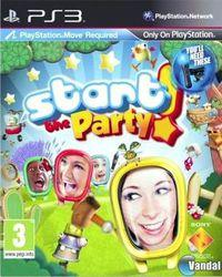 Portada oficial de Start the Party para PS3