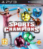 Portada oficial de de Sports Champions para PS3