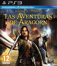 Portada oficial de El Señor de los Anillos: Las aventuras de Aragorn para PS3