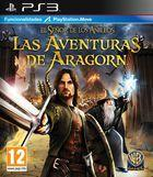 Portada oficial de de El Señor de los Anillos: Las aventuras de Aragorn para PS3