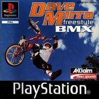 Portada oficial de Dave Mirra FreeStyle BMX para PS One