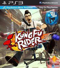Portada oficial de Kung Fu Rider para PS3