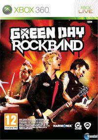 Portada oficial de Green Day: Rock Band para Xbox 360