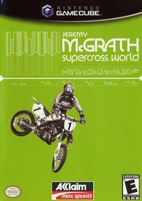 Portada oficial de Jeremy McGrath Supercross World 2002 para GameCube