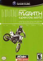 Portada oficial de de Jeremy McGrath Supercross World 2002 para GameCube