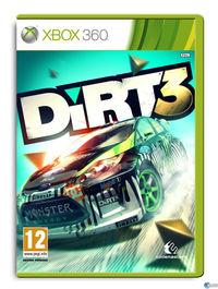 Portada oficial de DiRT 3 para Xbox 360