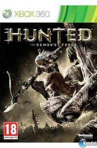 Portada oficial de Hunted: The Demon's Forge para Xbox 360