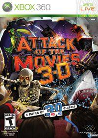 Portada oficial de Attack of the Movies 3D para Xbox 360
