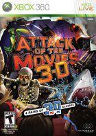 Portada oficial de de Attack of the Movies 3D para Xbox 360