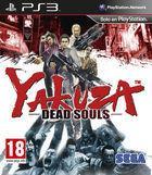 Portada oficial de de Yakuza: Dead Souls para PS3