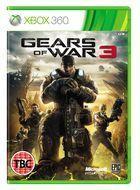 Portada oficial de de Gears of War 3 para Xbox 360
