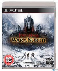 Portada oficial de El Señor de los Anillos: La Guerra del Norte para PS3