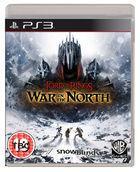 Portada oficial de de El Señor de los Anillos: La Guerra del Norte para PS3