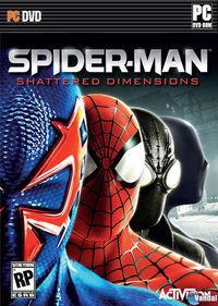 Portada oficial de Spider-Man: Shattered Dimensions para PC