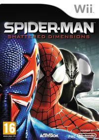 Portada oficial de Spider-Man: Shattered Dimensions para Wii