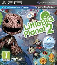 Portada oficial de LittleBigPlanet 2 para PS3