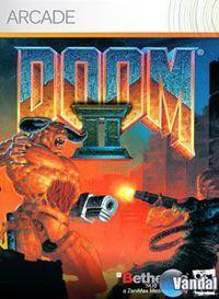 Portada oficial de Doom II XBLA para Xbox 360