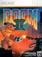 Portada oficial de de Doom II XBLA para Xbox 360