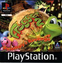 Portada oficial de Frogger 2 para PS One