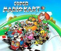 Portada oficial de Super Mario Kart CV para Wii