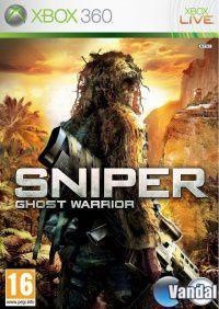 Portada oficial de Sniper: Ghost Warrior para Xbox 360