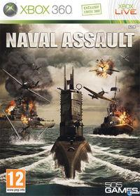 Portada oficial de Naval Assault para Xbox 360