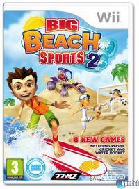 Portada oficial de Big Beach Sports 2 para Wii