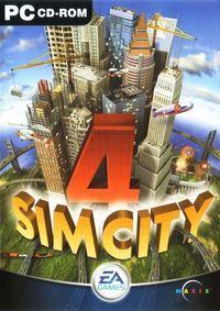 Portada oficial de Sim City 4 para PC