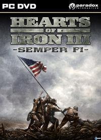 Portada oficial de Hearts of Iron 3: Semper Fi para PC