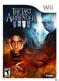 Portada oficial de The Last Airbender para Wii