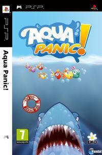 Portada oficial de Aqua Panic! para PSP