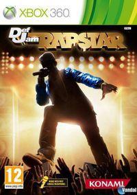 Portada oficial de Def Jam Rapstar para Xbox 360