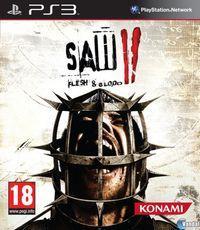 Portada oficial de Saw II: Flesh & Blood para PS3