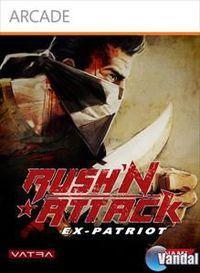 Portada oficial de Rush'N Attack Ex-Patriot XBLA para Xbox 360