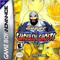 Portada oficial de Super Ghouls n' Ghosts-R para Game Boy Advance