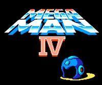 Portada oficial de Mega Man 4 CV para Wii