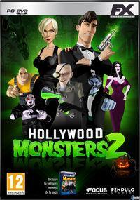 Portada oficial de Hollywood Monsters 2 para PC