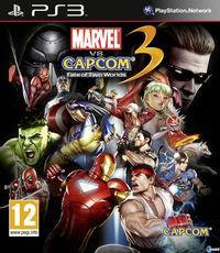 Portada oficial de Marvel vs. Capcom 3 para PS3