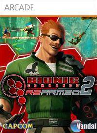 Portada oficial de Bionic Commando Rearmed 2 XBLA para Xbox 360