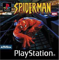 Portada oficial de Spiderman para PS One