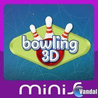 Portada oficial de Bowling 3D Mini para PSP